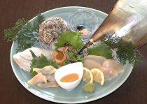 【お勧め料理】貝の刺身盛合(3種)
